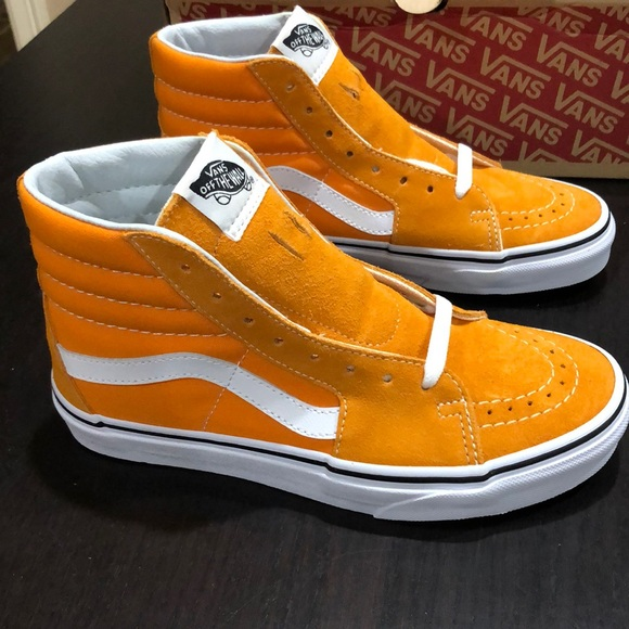 Vans Shoes | Vans Sk8hi Dark Cheddar
